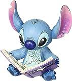 Jim Shore pour Enesco Disney Traditions Figurine Stitch avec Livre, 14,6cm