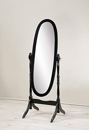 Roundhill Furniture Queen Anna Style Floor Cheval Mirror