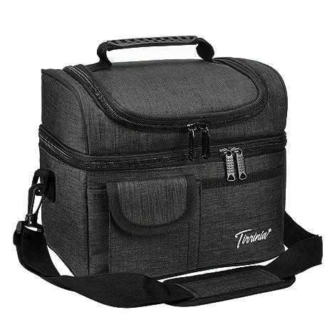 Amazon.com: Tirrinia bolsa de almuerzo compacta con ...