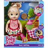 Baby Alive Snack 'n Spill Baby by Baby Alive