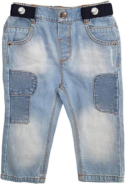 """Toddlers Kids Boys Elastic Adjustable New 1"""" Denim Suspenders Baby Made in"""