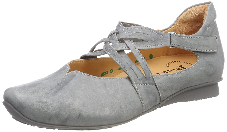 Think Chilli_282108, Ballerine con Cinturino alla Caviglia Donna
