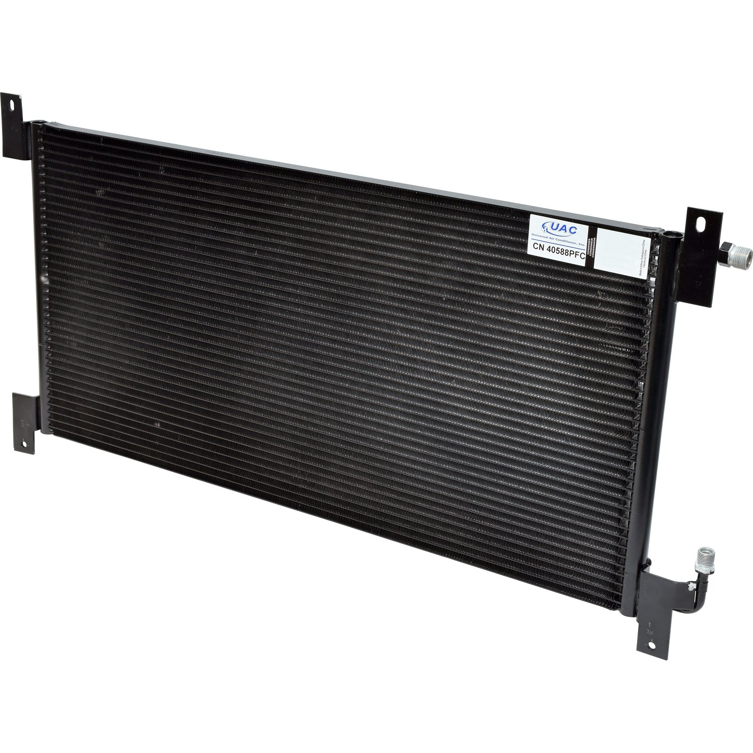Universal Air Conditioner CN 40588PFC A/C Condenser by UAC