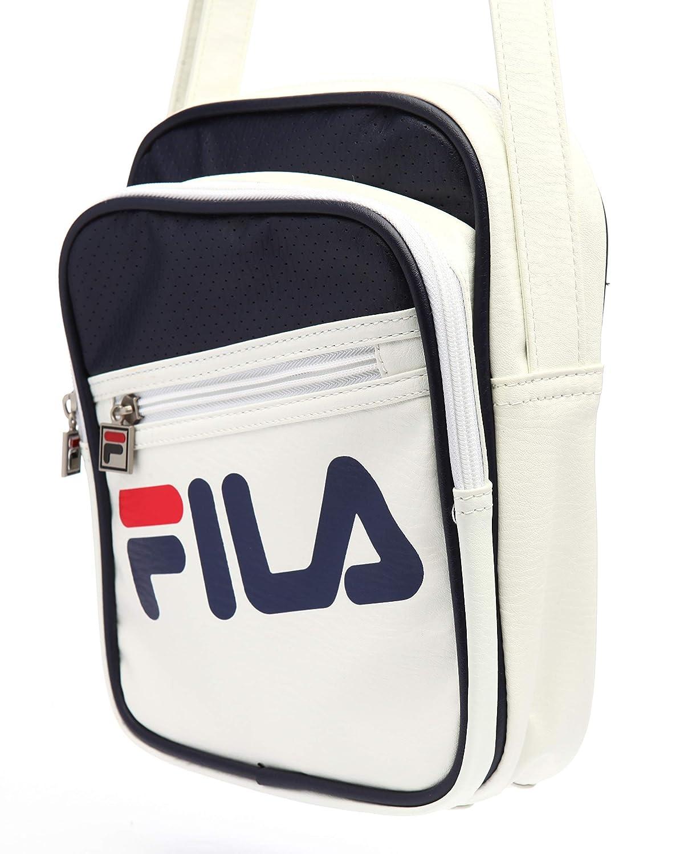 2851fbab8 Amazon.com: Fila Unisex Buster Shoulder Bag, White, One Size: Clothing