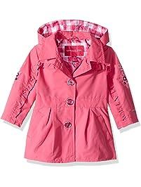 68aee0b407f London Fog Baby Girls Lightweight Trench Coat