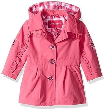 f441b4956713 Amazon.com  London Fog Baby Girls Lightweight Trench Coat  Clothing