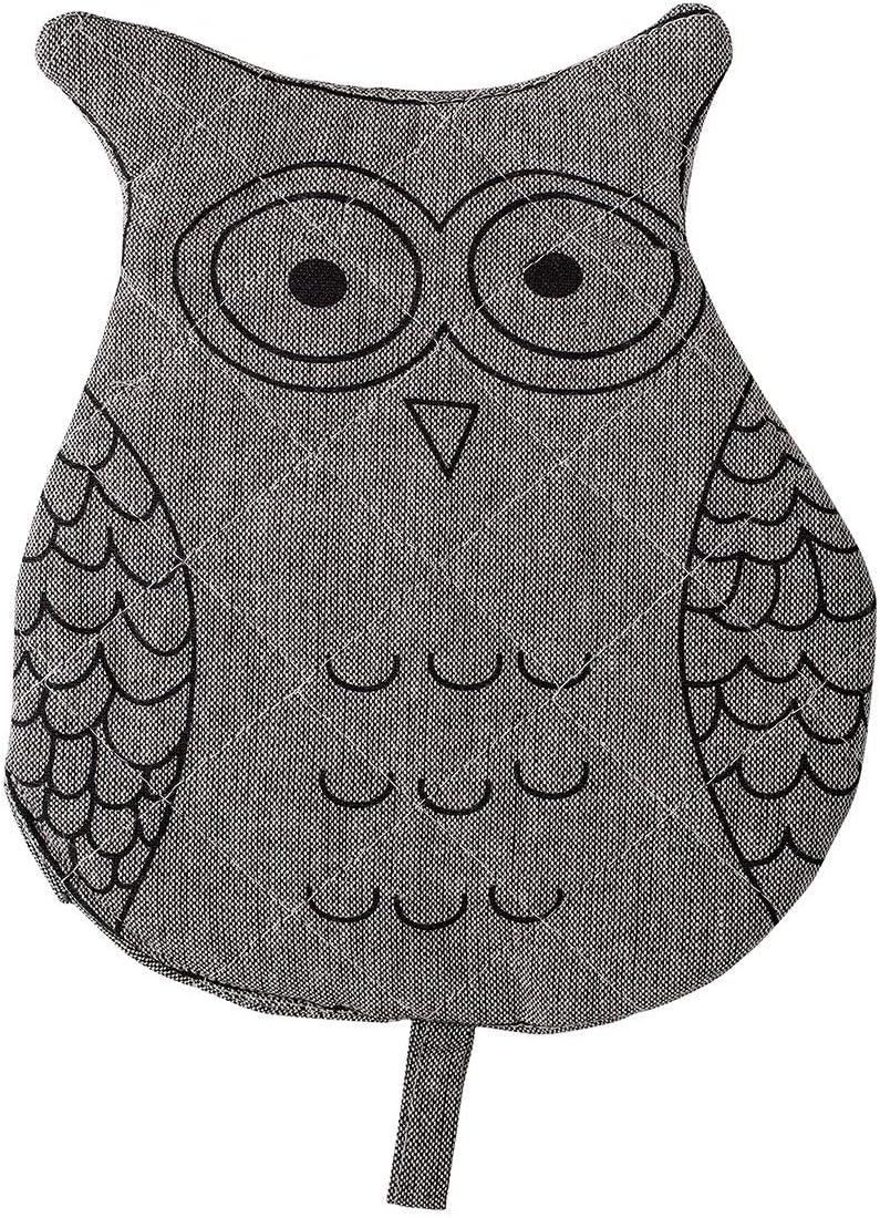 Bloomingville Woodsy Owl Woven Cotton Oven Mitt