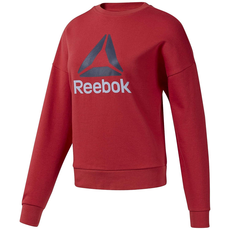 Reebok Damen Wor Big Logo Coverup Sweatshirt