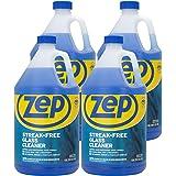 Zep Streak-Free Glass Cleaner 128 Ounce ZU1120128 (Case of 4) Pro Strength