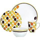 Rachael Ray Dinnerware Little Hoot 4-Piece Dinnerware Place Setting