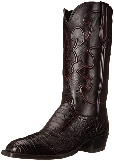 Lucchese Classics Men's Charles Western Boot, Black Cherry, ...