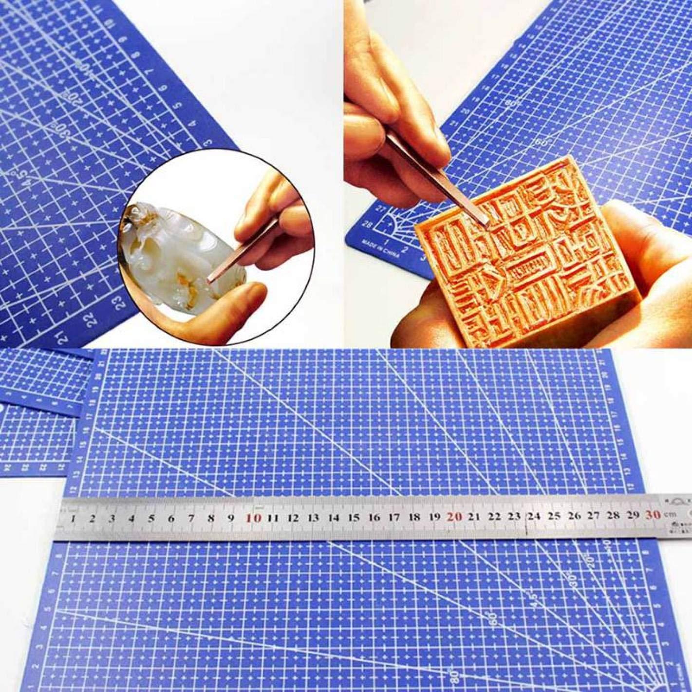 4h6yerf per Fai da Te in PVC 1 Tappetino da Taglio Rettangolare per la Decorazione della casa A3 Cutting Pad