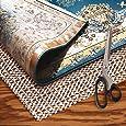 AMZOK Rug Pad 2x3 Rug Slip - Rug Grippers Non Slip Rug Pad Floor Protection Cushion Non Slip Carpet Mat Skid for Rug Anti Slip Pad for Carpet 2x3 Rug Pad Non Slip