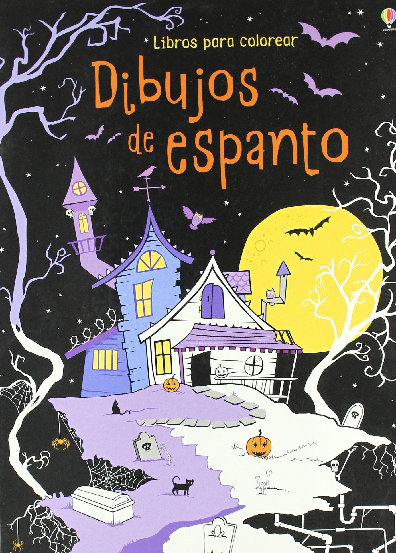 Dibujos de espanto (Libros Para Colorear): Amazon.es: Kirsteen ...