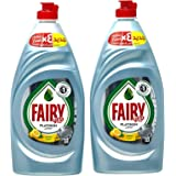 Fairy Platinum Lemon Dish Washing Liquid Soap Dual Pack 2x800ml @25%