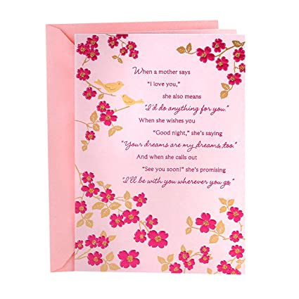 Amazon hallmark mothers day greeting card many ways youve hallmark mothers day greeting card many ways youve shown your m4hsunfo