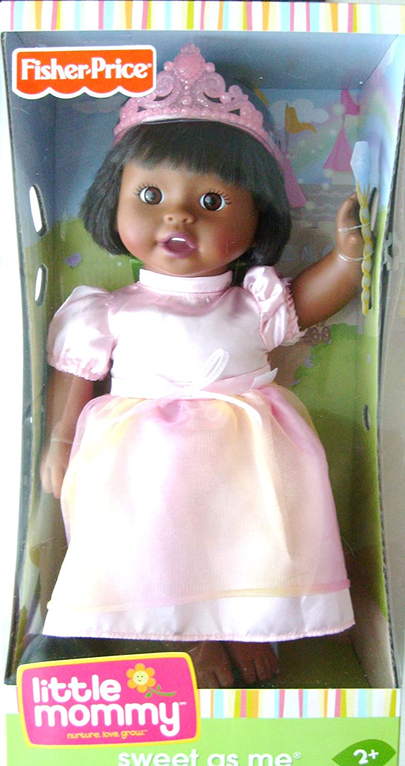 Little Mommy Sweet As Me Princess Doll ~ African American by Little Mommy