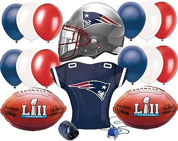 buy online 032ef a2ff9 Amazon.com: Super Bowl 53 New England Patriots Jersey ...