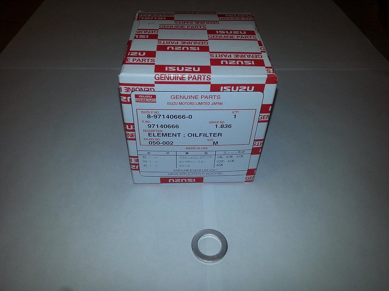 Genuine Honda 8-97140-666-0 Element Oil Filter