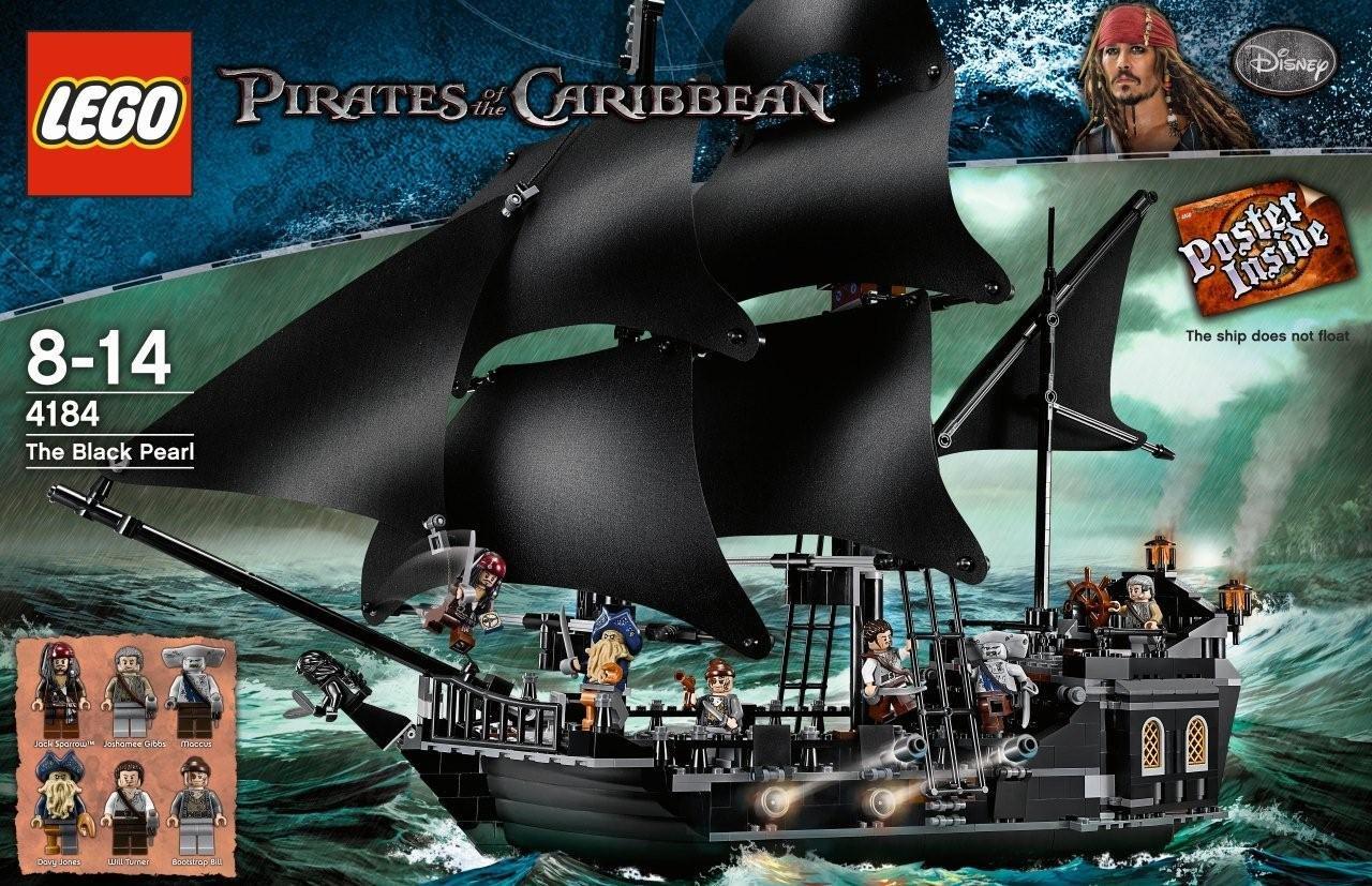 Del Perla Barco Lego El Piratas La De Negra4184 Caribe trQdhs