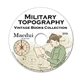 Military Topography Vintage Books Collection 32 PDF E-Books on 1 DVD Map Reading, Cartography, Topographic Surveying, Old books on disc
