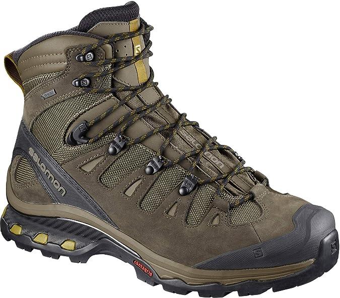 Salomon Quest 4D 2 Verde escursionisti 12 11.5 UK Gtx