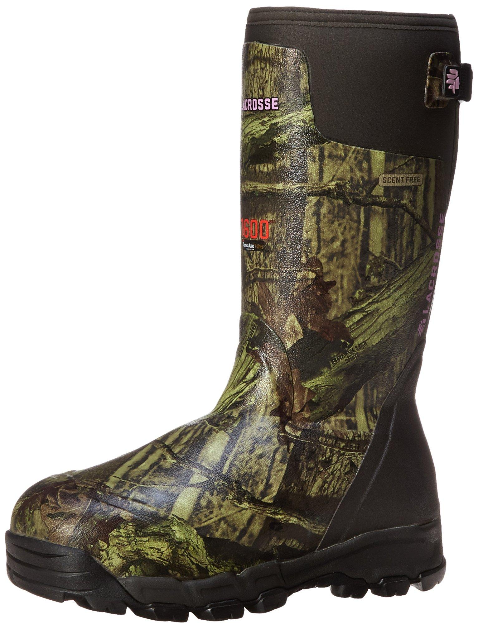 LaCrosse Women's Alphaburly Pro 15 Mo 1600G Hunting Boot,Mossy Oak Break-Up Infinity,5 M US