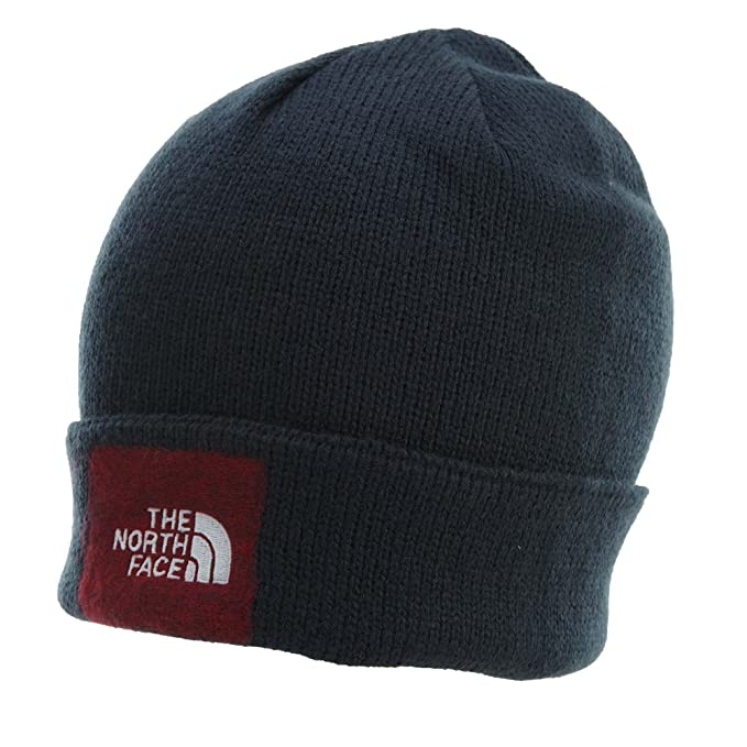 dc23ede9 The North Face Felted Logo Beanie | Urban Navy (NF0A355Z) at Amazon Men's  Clothing store:
