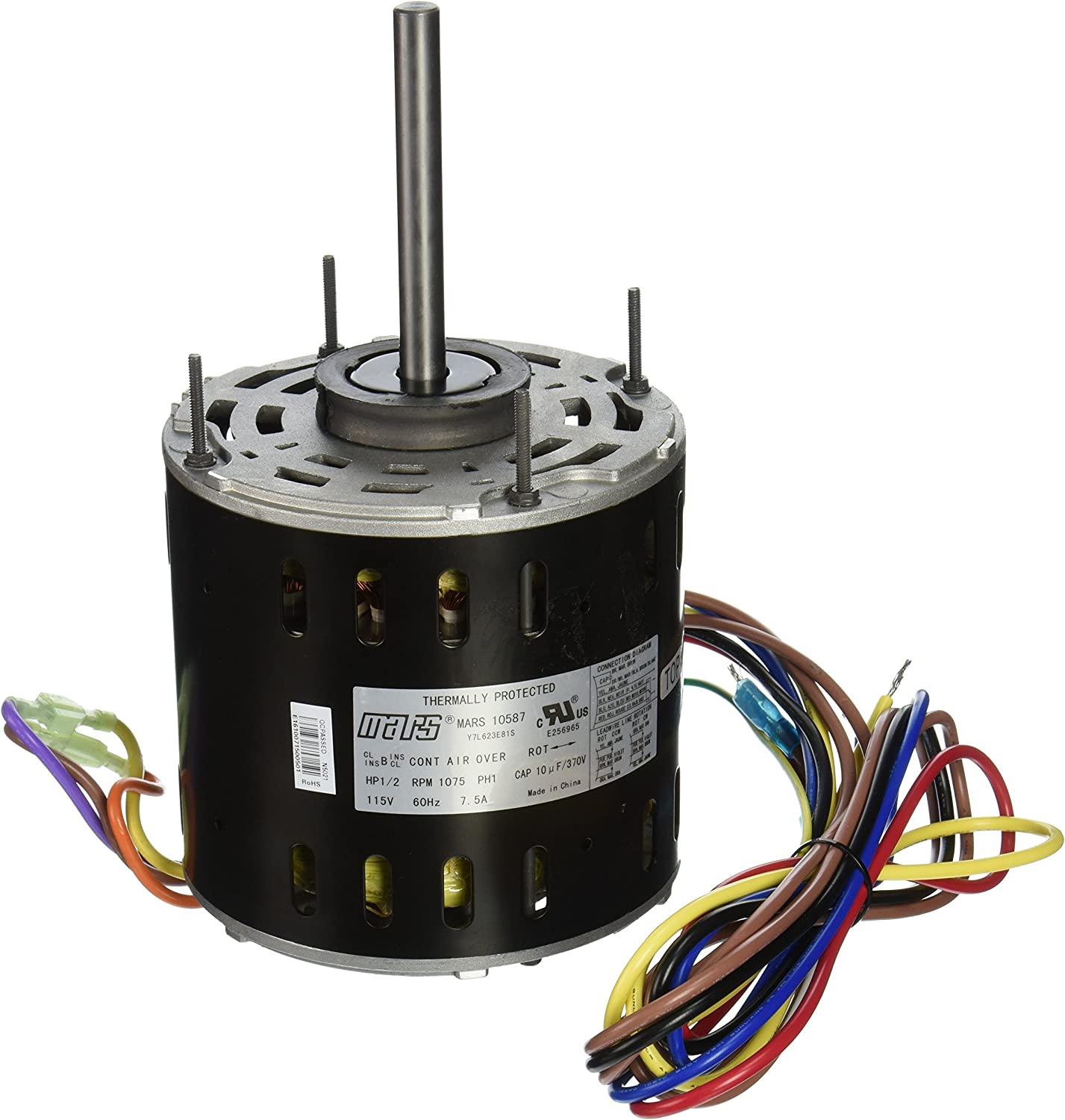MARS - Motors & Armatures 10587 1/2 hp 115v Direct Drive - Electronic  Component Motors - Amazon.comAmazon.com