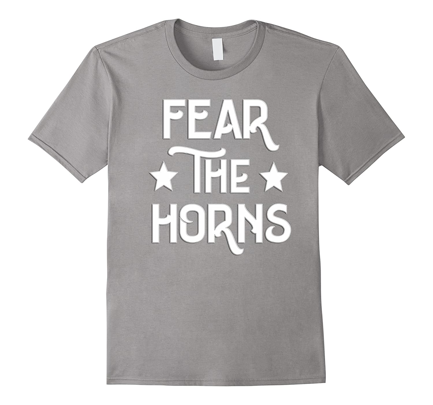 """""""Fear the Horns"""" Tee Shirt for French Horn Players"""