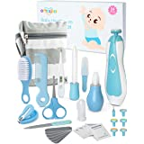 OTTOLIVES Baby Healthcare and Grooming Kit, 24 in 1 Baby Electric Nail Trimmer Set Newborn Nursery Health Care Set for Newbor