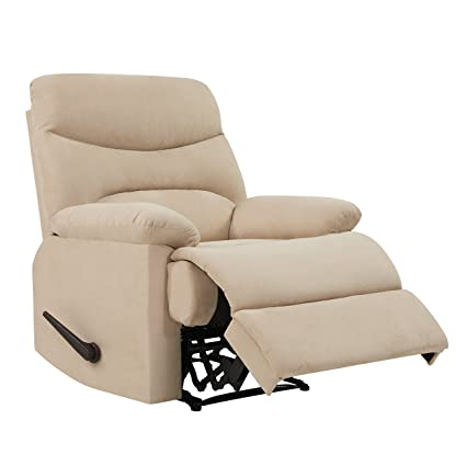 Amazon.com: ProLounger Wall Hugger Recliner Chair in Khaki ...