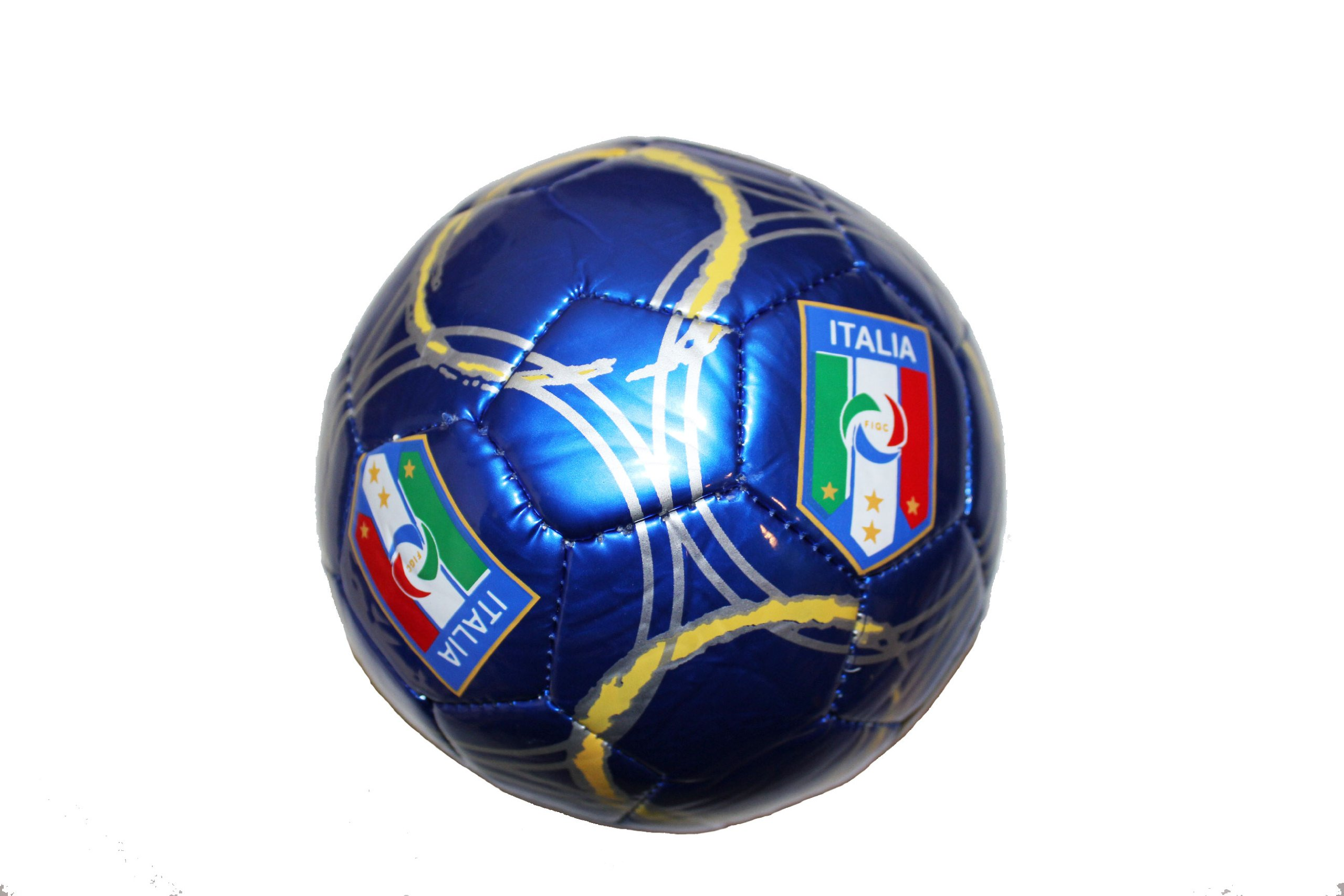 Italia Italy Blue FIGC Logo FIFA World Cup Soccer Ball Size 2.. New