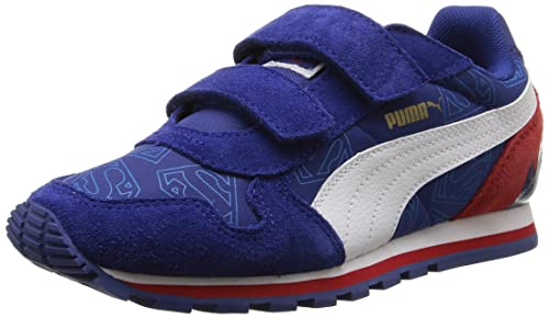 16bde729b9868b Puma Boy s ST Runner Superman Kids Mesh Sports Shoes  Buy Online at ...