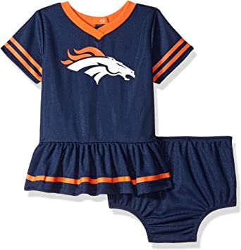 NFL Girls Team Jersey Dress and Diaper Cover