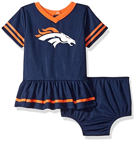 85d5aa0f988 Image Unavailable. Image not available for. Color  NFL Denver Broncos Baby- Girls 2-Piece Football ...