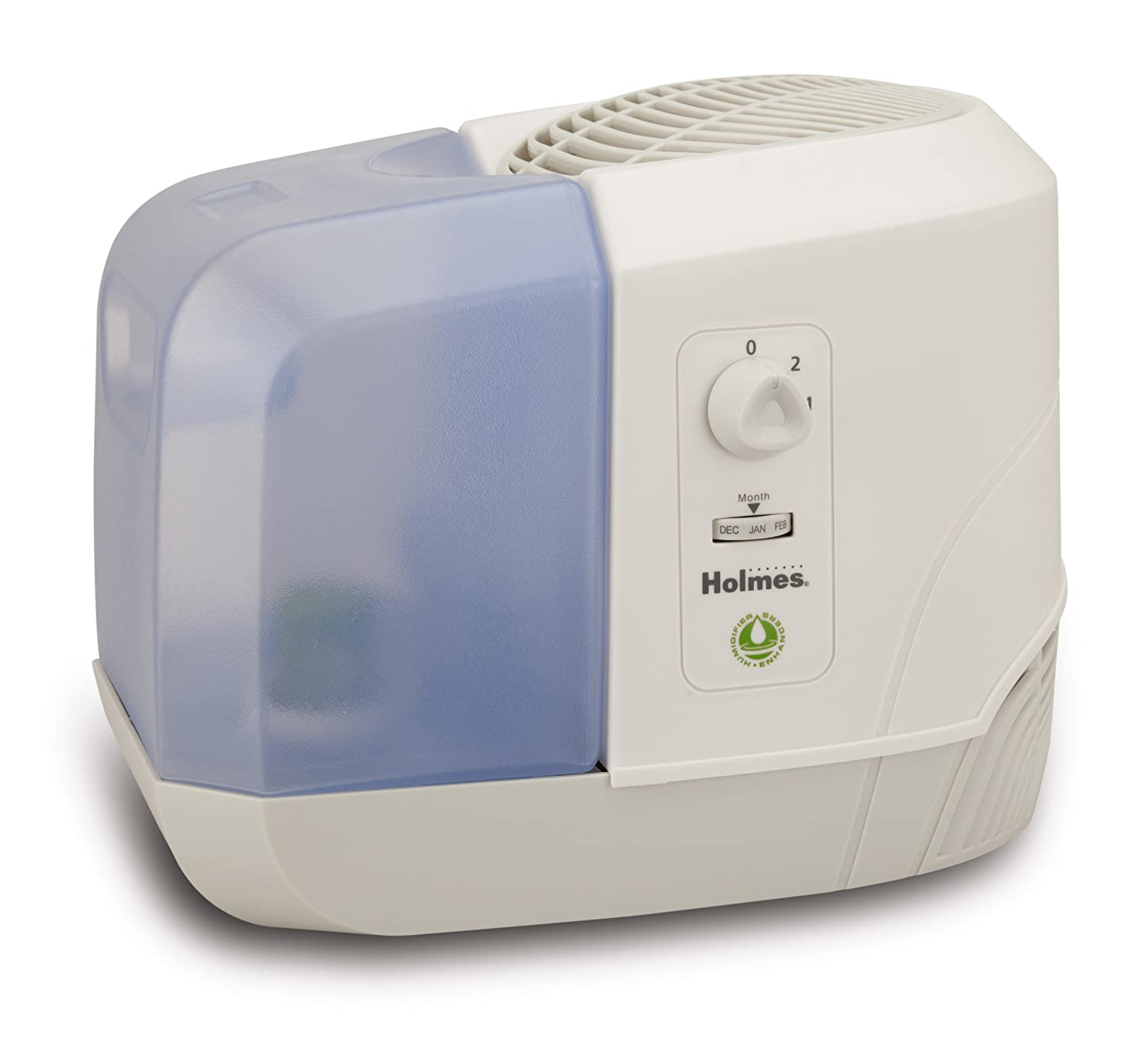 Holmes Group Purified Cool Mist Humidifier with Shatterproof Tank, HM1300-NU HM1300-NU-1