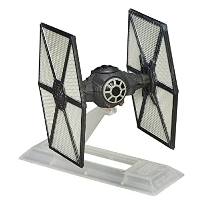 Star Wars: The Force Awakens Black Series Titanium First Order TIE Fighter: Toys & Games
