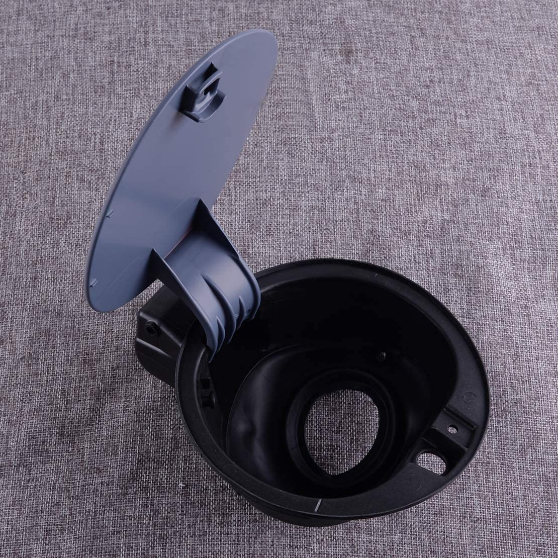 CITALL Fuel Filer Flap Tank Cover Cap Fit for VW Polo 2014-2016 6R0809857