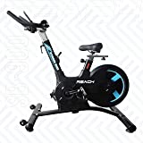 REACH SB-900 | Fitness Gym Spin Bike for Home and Commercial Use | Exercise Spin Cycle 25 KG Flywheel | Designed for Smooth Indoor Cycling Experience | Perfect Exercise Equipment for Weight Loss