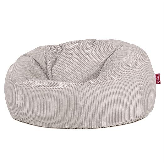 Amazonde Lounge Pug Sitzsack Sofa Relaxsessel Cord Creme