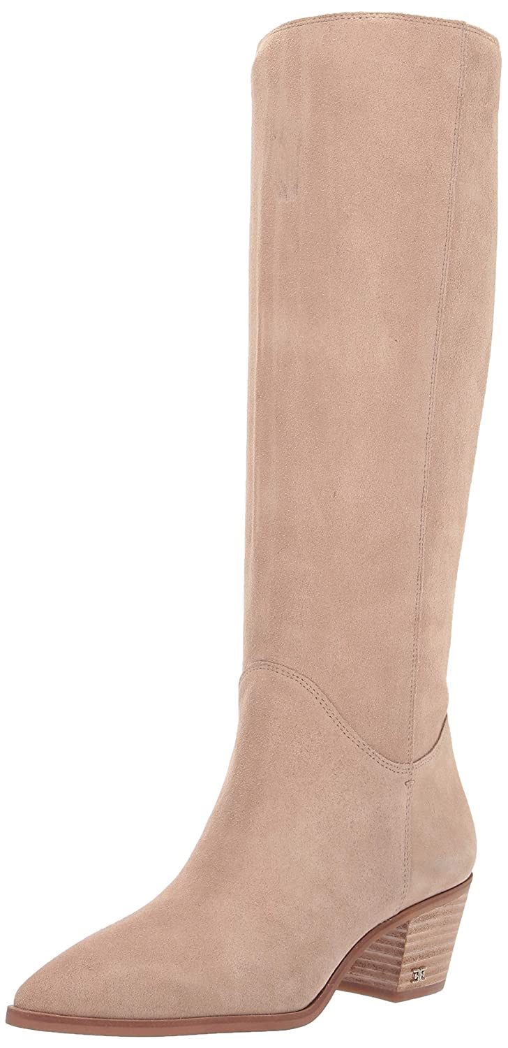 Warm Taupe Suede Sam Edelman Womens Rowena Knee High Boot