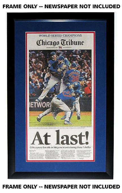 Amazon.com: Chicago Tribune Periódico – Marco con Cubs ...