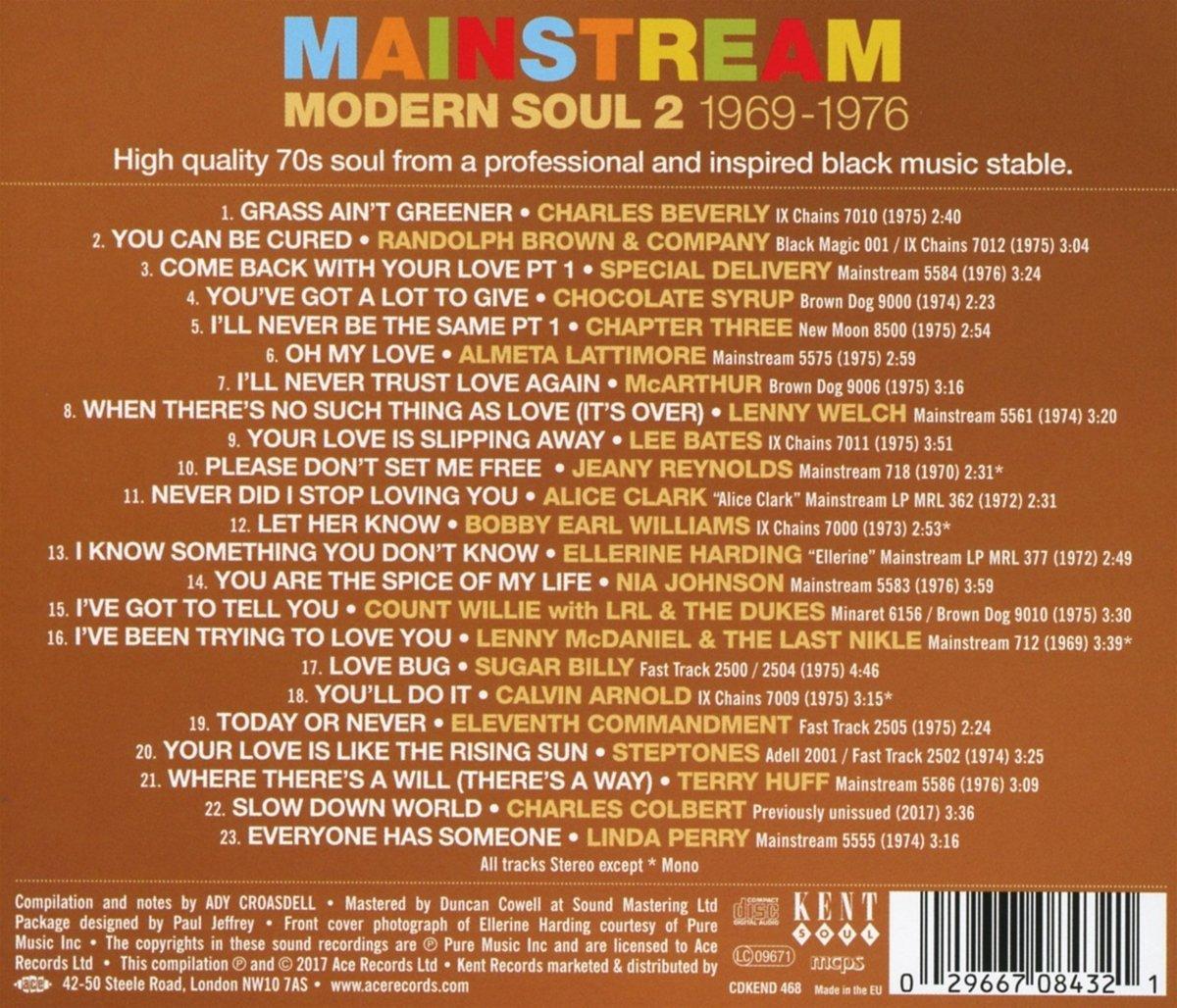 Mainstream Modern Soul 2 - Various: Amazon de: Musik