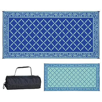 Amazon Com Reversible Mats 119183 Outdoor Patio 9 Feet X 18 Feet