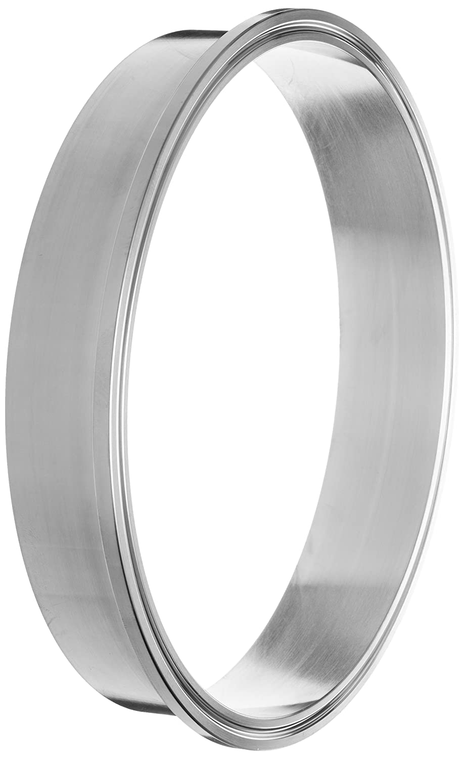 Dixon L14AM7-G100 Stainless Steel 304 Sanitary Fitting, Long Weld Clamp Ferrule, 1