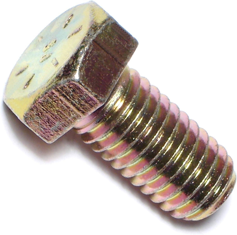 Hard-to-Find Fastener 014973380380 Grade 8 Coarse Hex Cap Screws 28-Piece 7//16-14 x 4-Inch