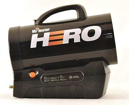 amazon com mr heater hero forced air propane heater 30 000 60 000 rh amazon com Mr. Heater Replacement Parts Mr. Heater Replacement Parts