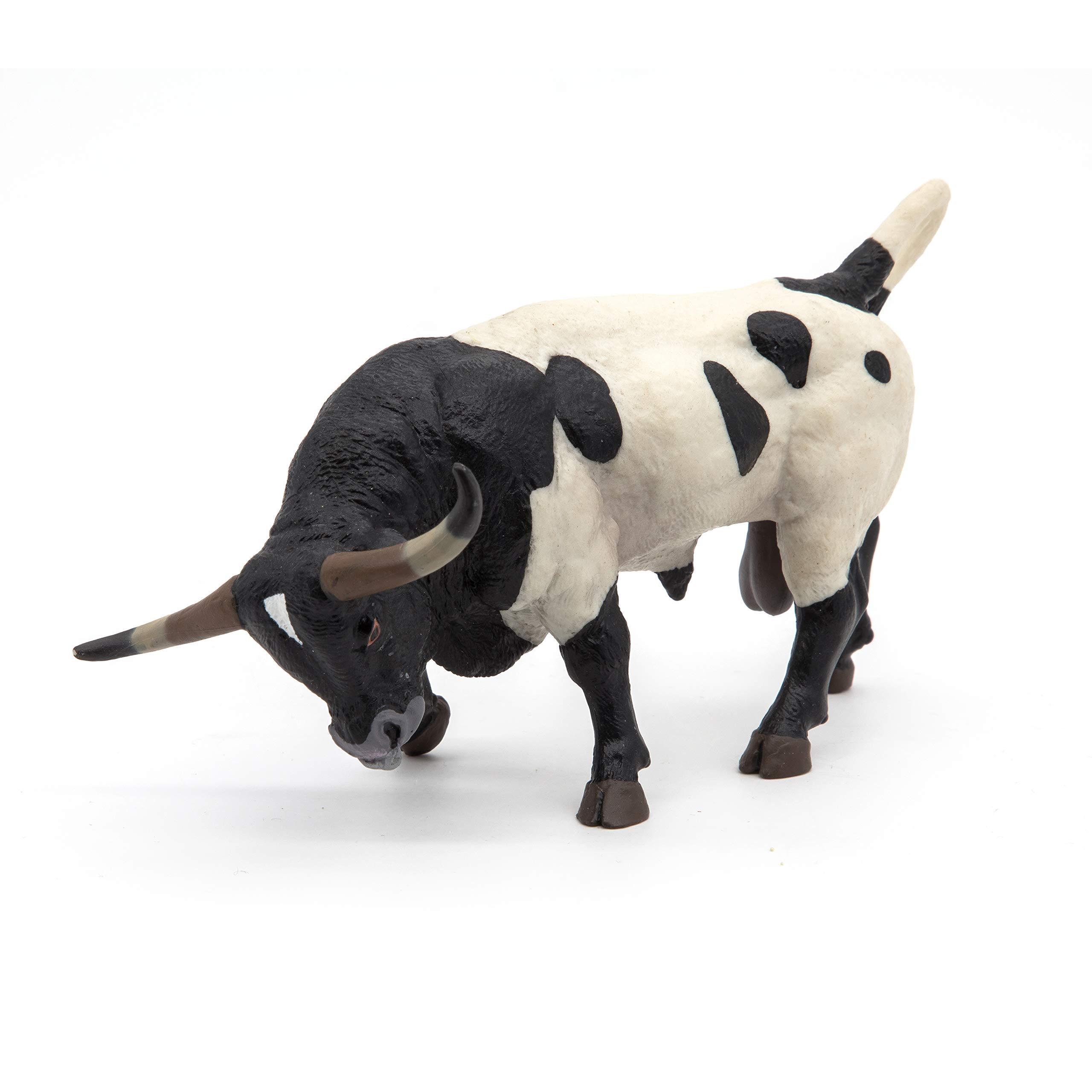 Papo Farmyard Friend Figure, Texan Bull