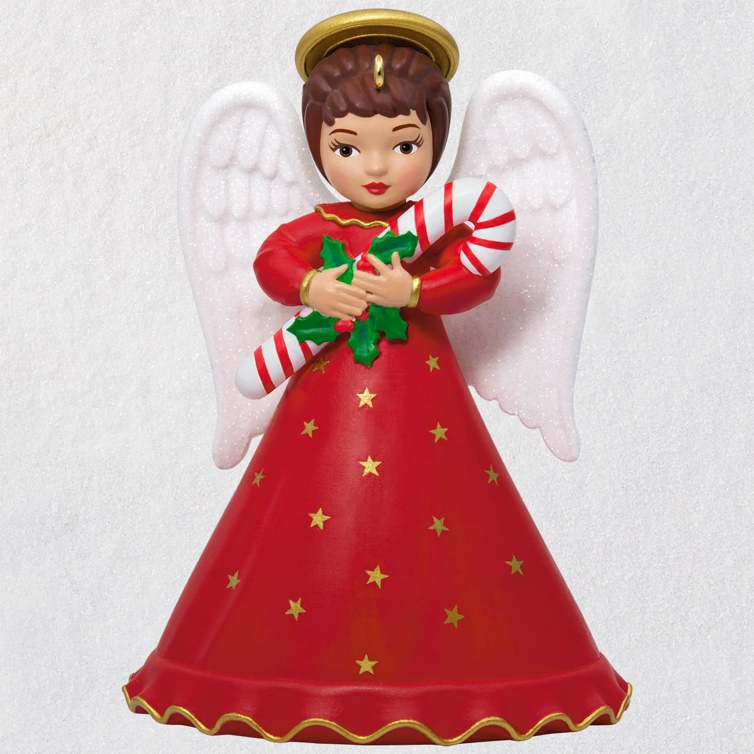 Hallmark Keepsake Christmas Ornament 2018 Year Dated, Heirloom Angels